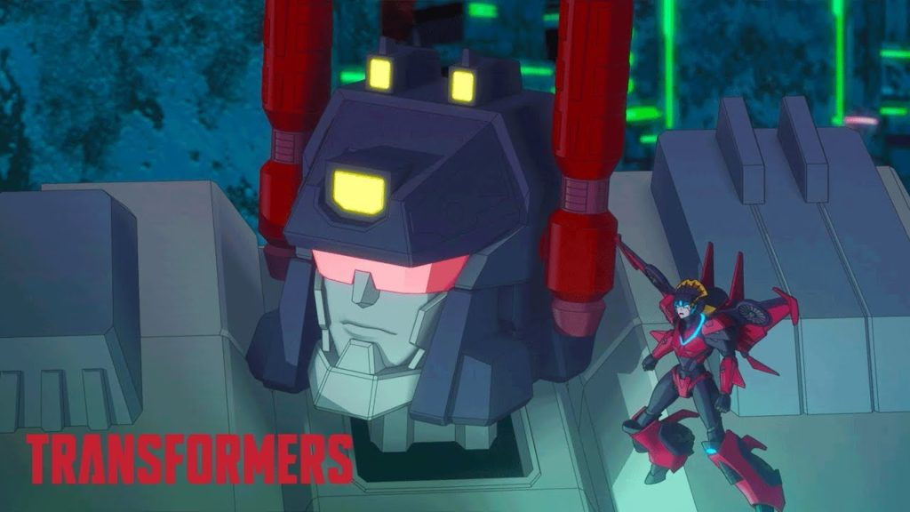 seriál Transformers Titans Return series