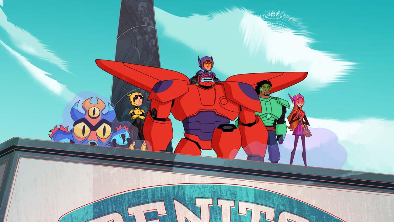 seriál Velká šestka: Baymax se vrací / Big Hero 6: The Series