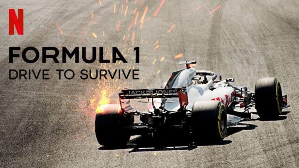 seriál F1 Touha po vítězství Formula 1 Drive to Survive series