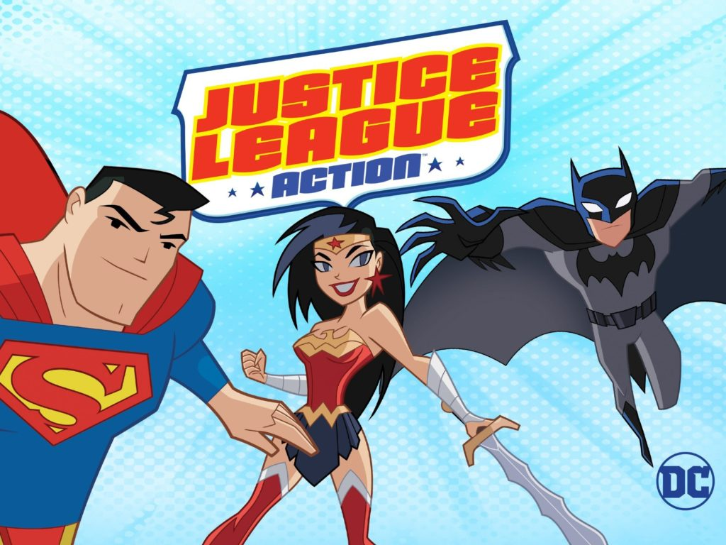 seriál Justice League Action series