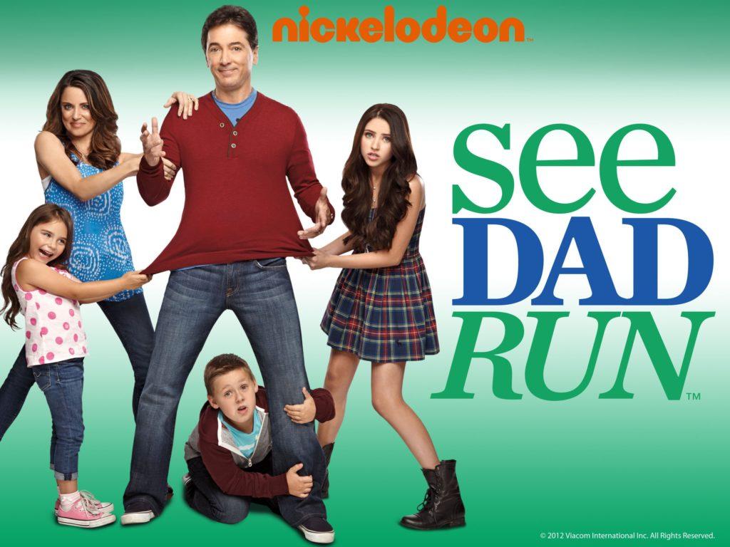 seriál Táta to zvládne See Dad Run series