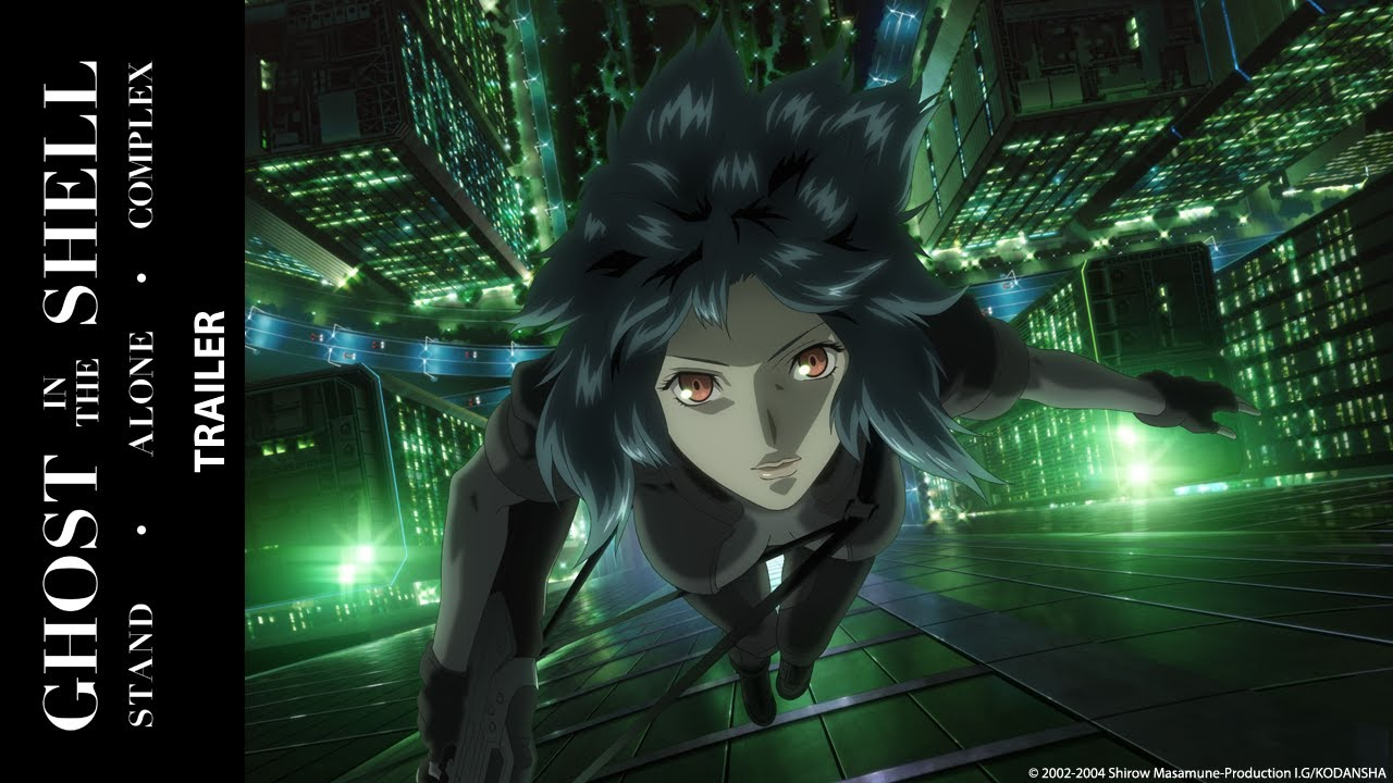 seriál Ghost in the Shell Stand Alone Complex series