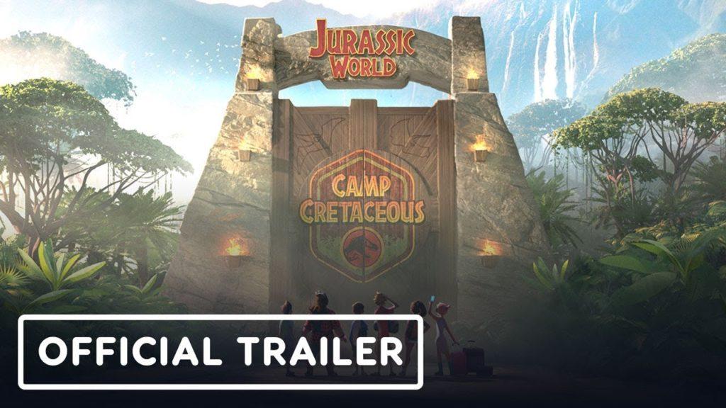 seriál Jurský svět Křídový kemp Jurassic World Camp Cretaceous series