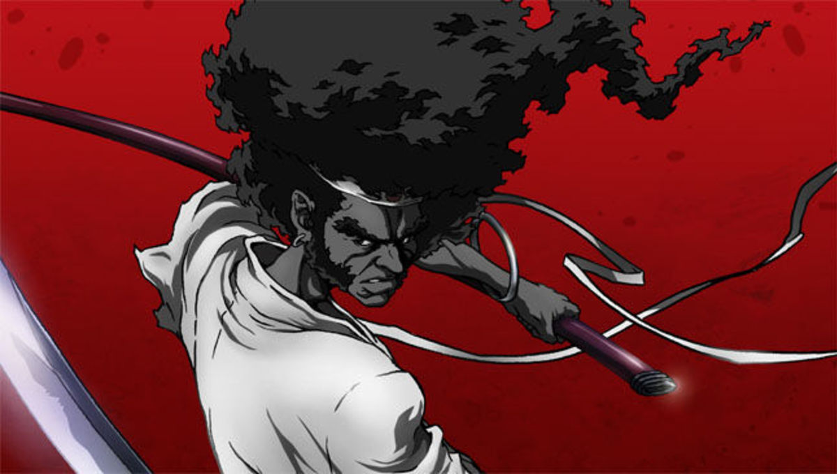 seriál Afro Samurai series