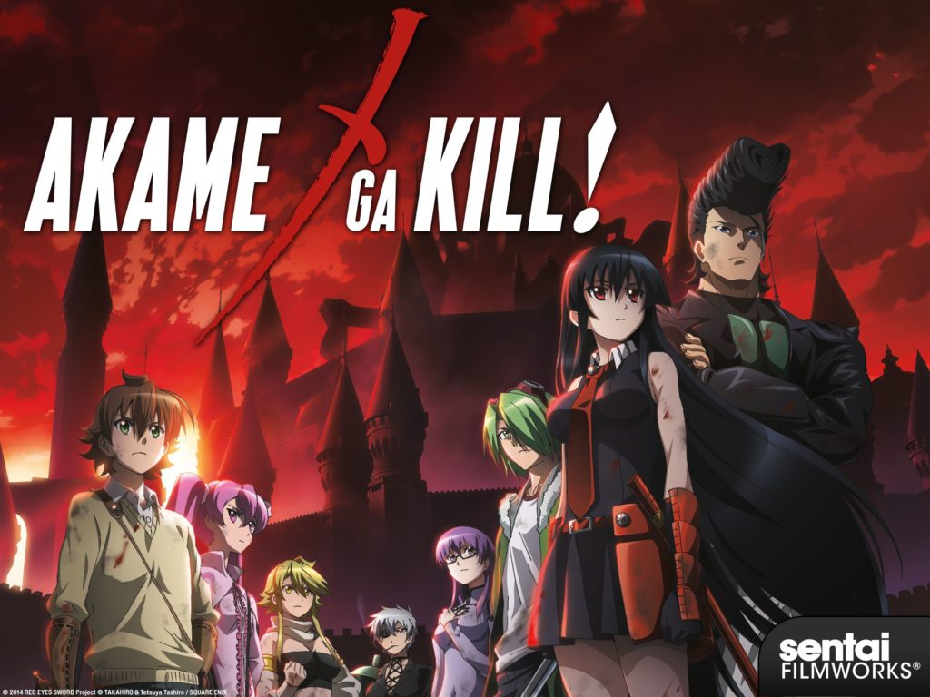 seriál Akame ga Kill! series