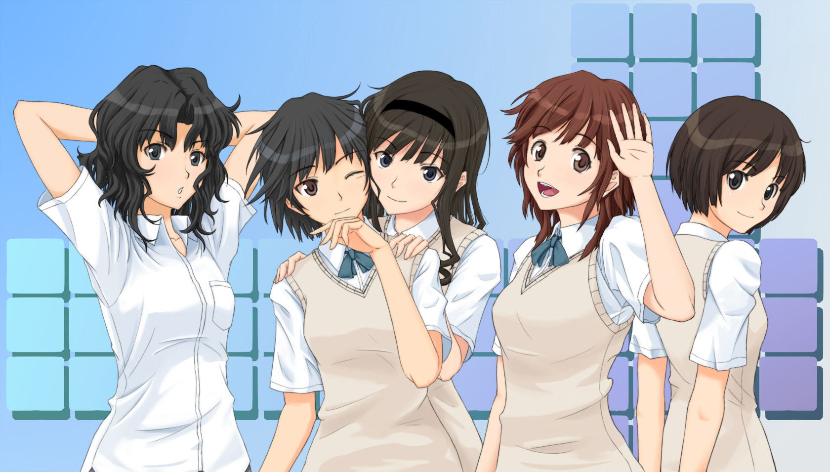 seriál Amagami SS series