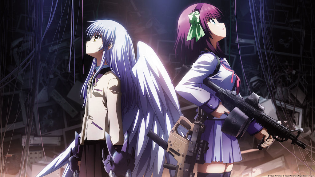 seriál Angel Beats series