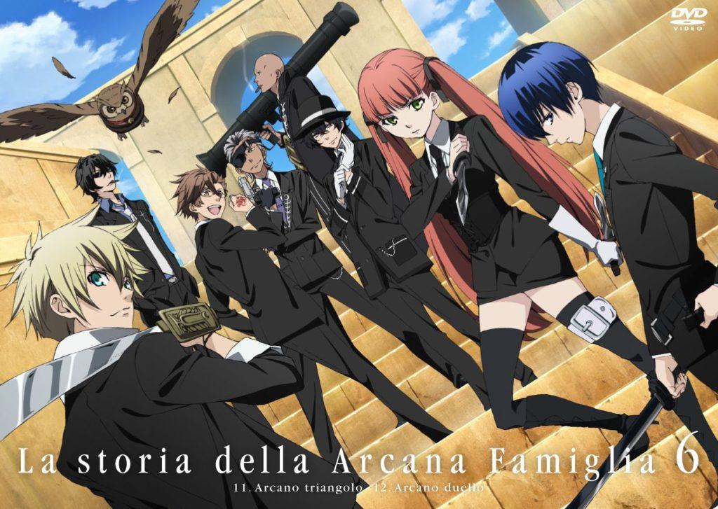seriál Arcana Famiglia La Storia della Arcana Famiglia series