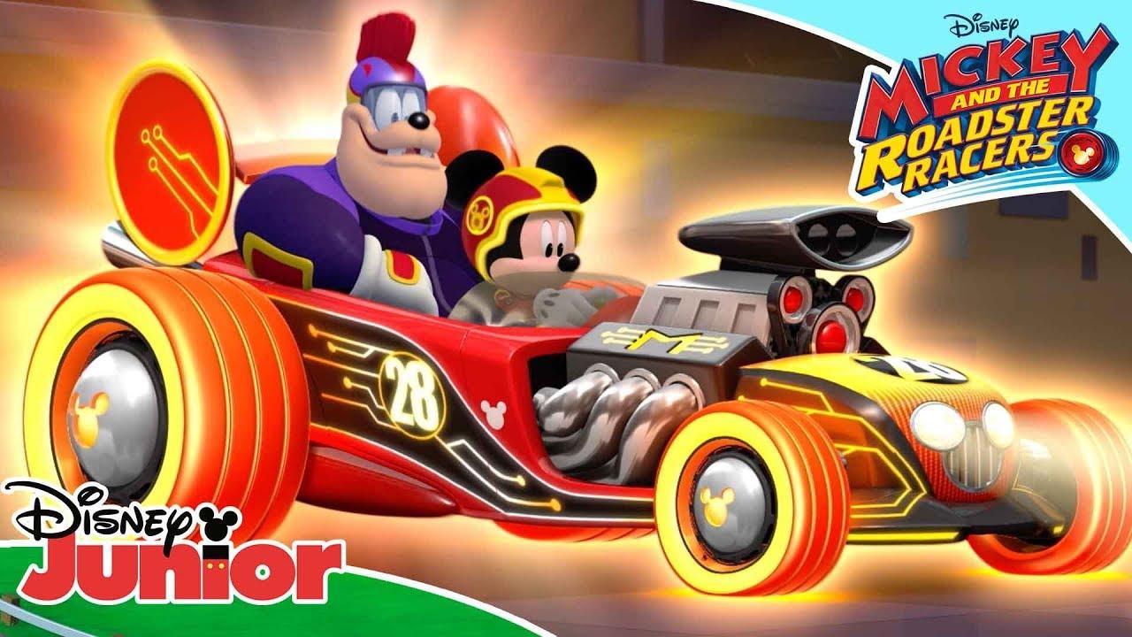 seriál Mickey a závodníci Mickey and the Roadster Racers series