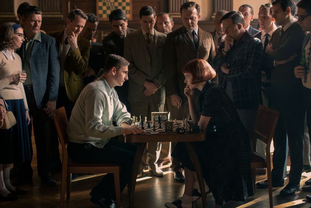 seriál Dámský gambit / The Queen's Gambit series