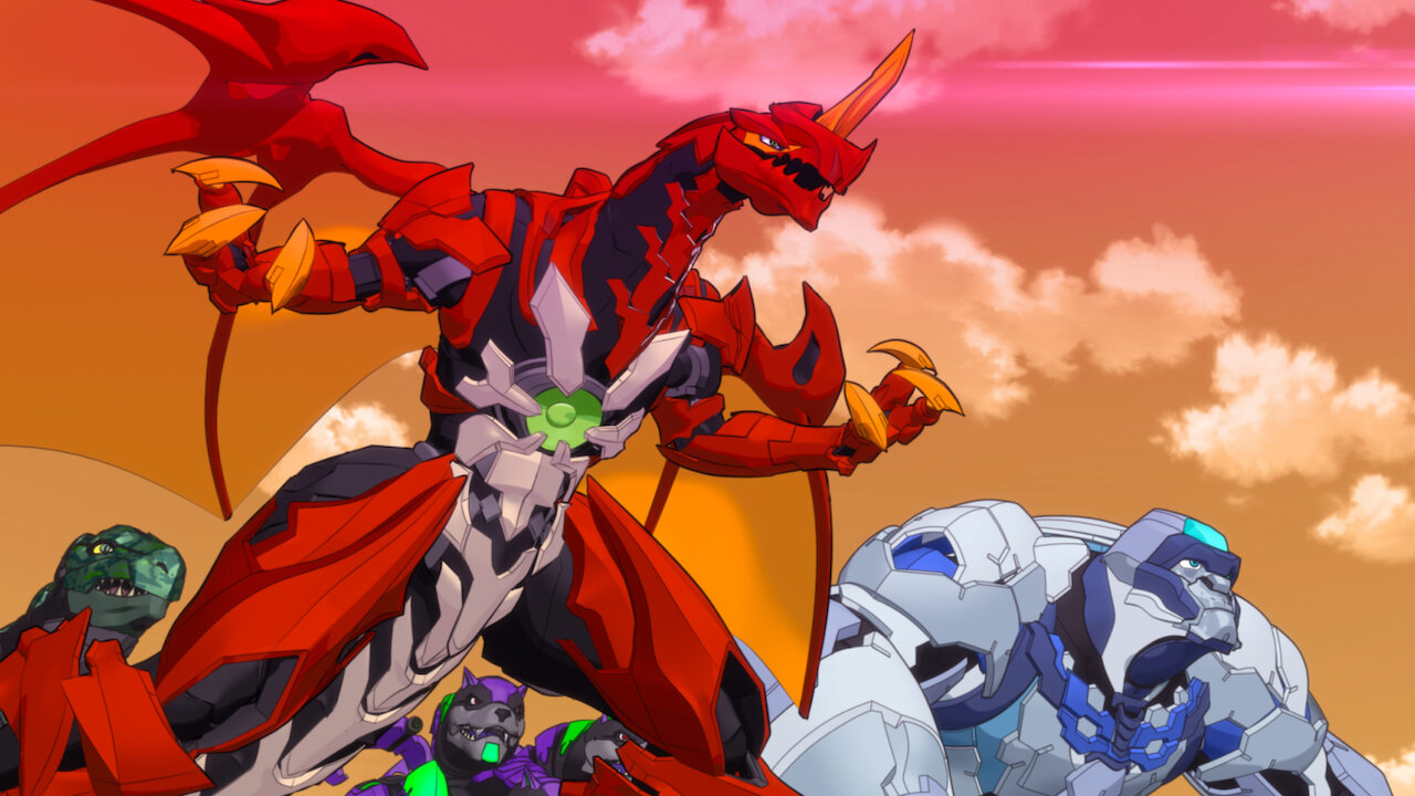 seriál Bakugan Battle Planet series