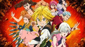 seriál Sedm smrtelných hříchů Nanatsu no Taizai series