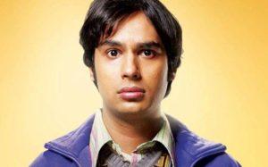 Seriepedie Big Bang Theory postavy Rajesh Koothrappali