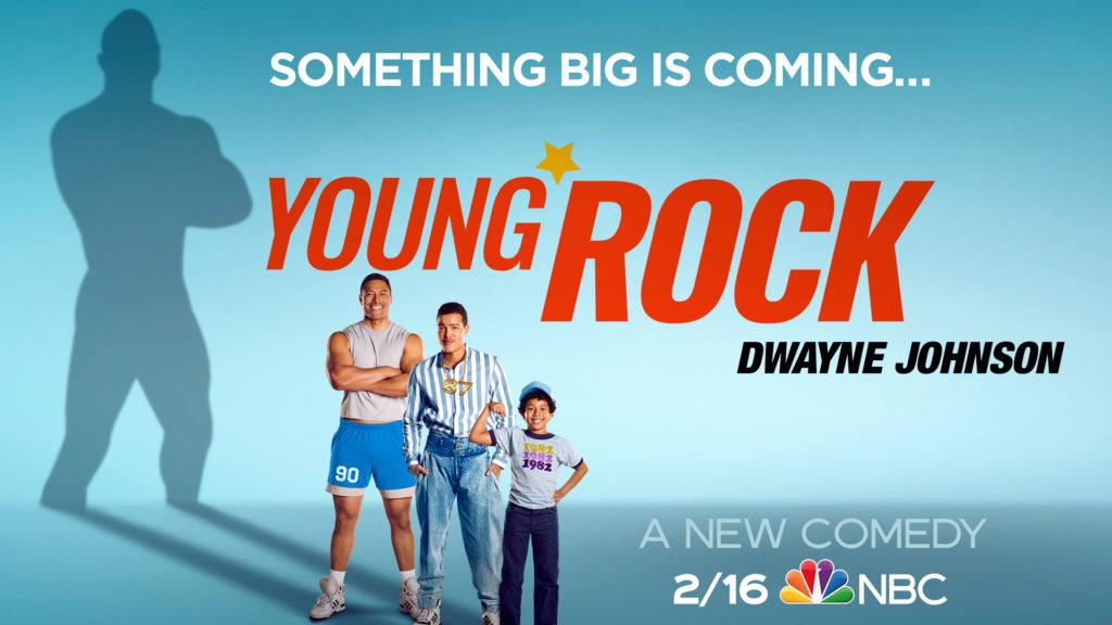 seriál Young Rock series