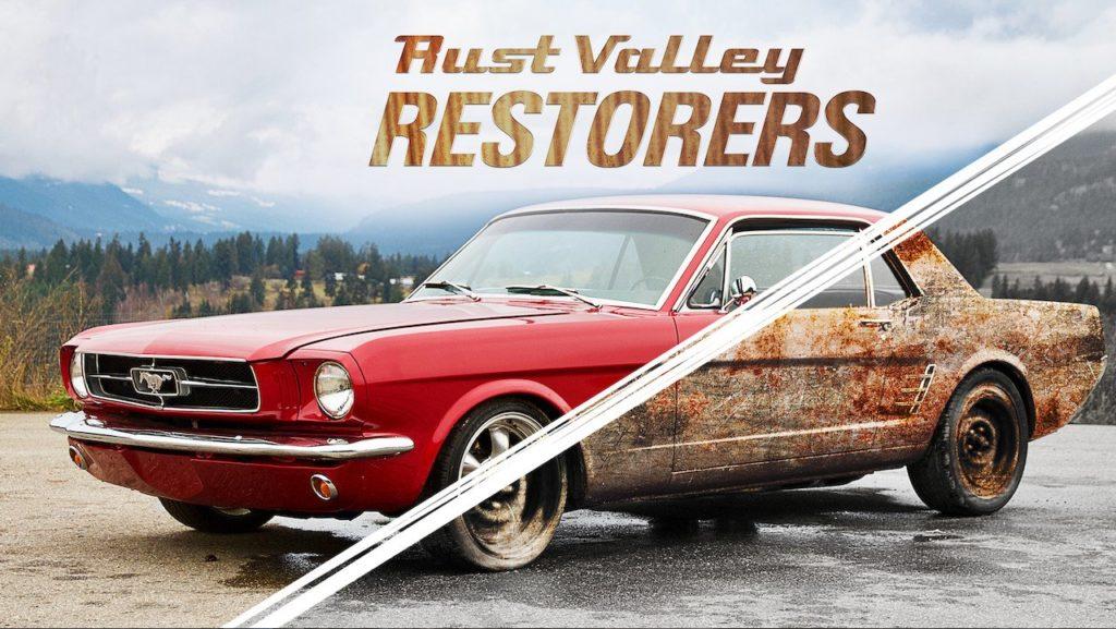seriál Mechanici z Rust Valley Rust Valley Restorers series
