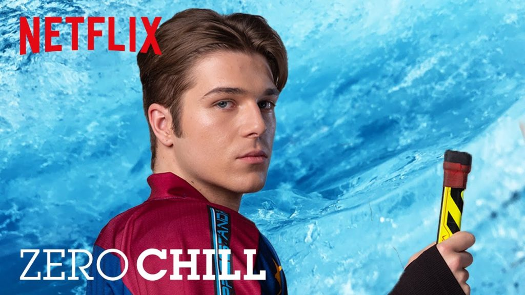 seriál Srdce z ledu Zero Chill series