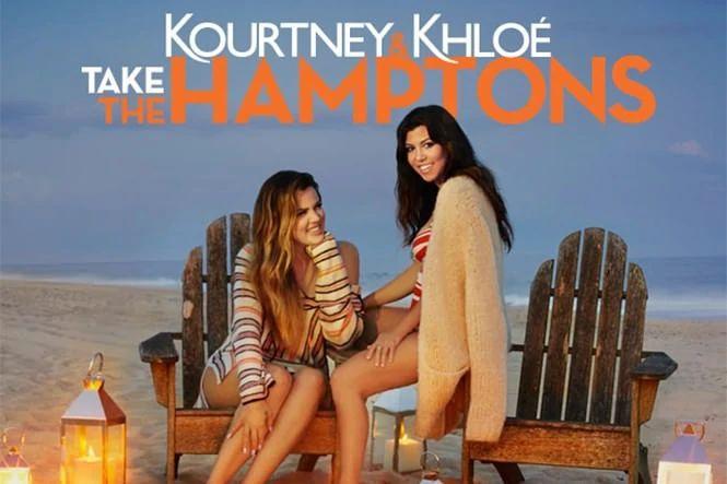 seriál Kourtney and Khloé Take The Hamptons series