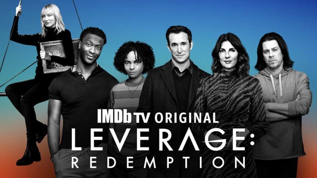 seriál Leverage Redemption series