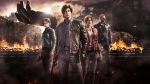 seriál Resident Evil Infinite Darkness series
