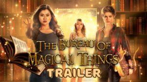 seriál Úřad kouzelnických záležitostí The Bureau of Magical Things series